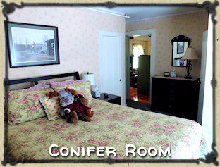 Conifer Room at Spruce Moose Lodge New Hampshire